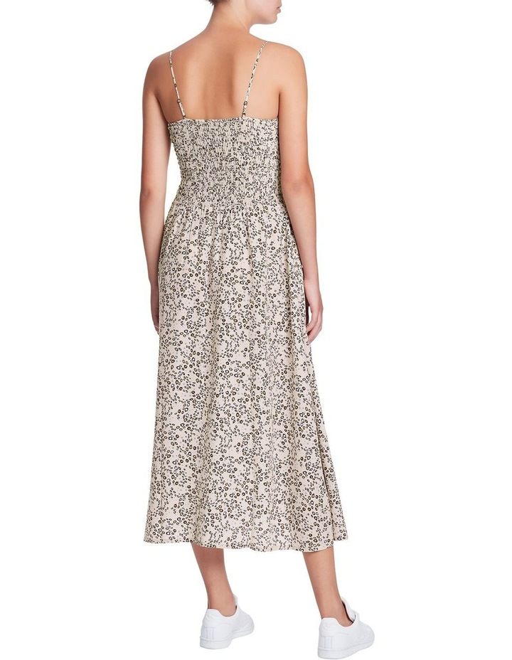 Wild One Shirred Silk Dress image 3