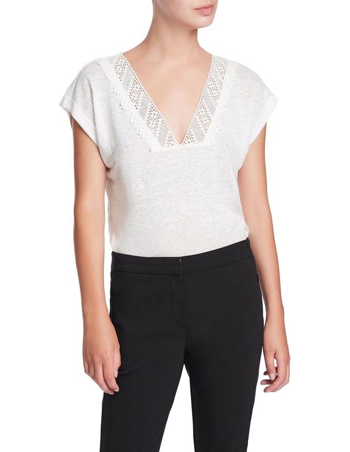 Linen & Lace Top image 1