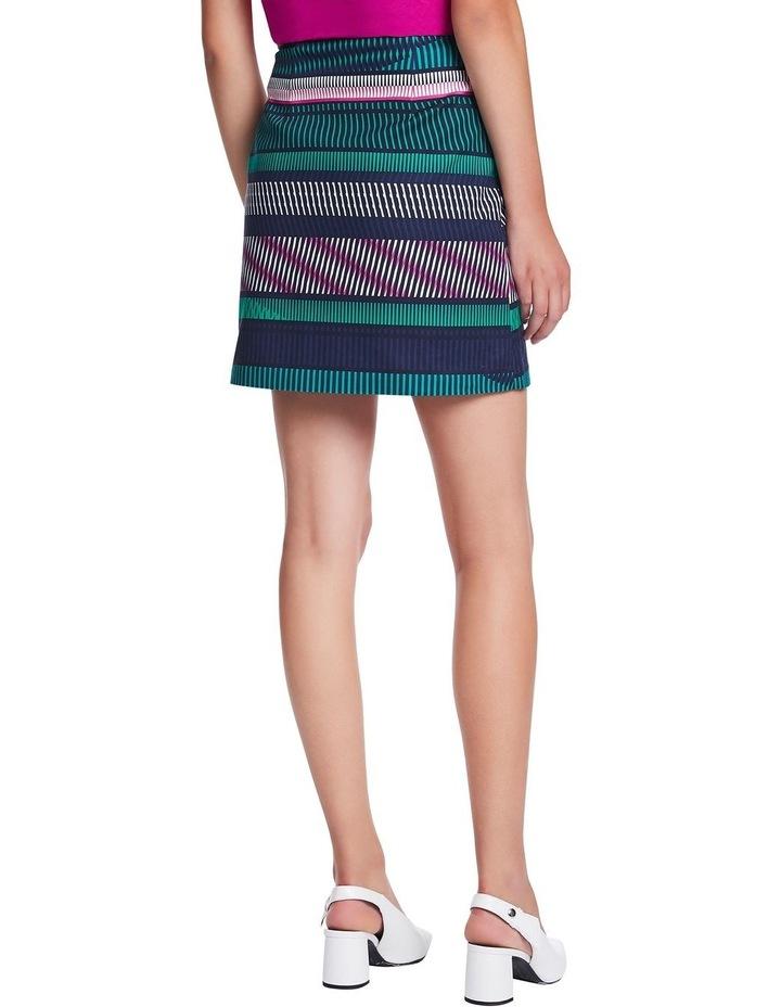 Staggered Stripe Skirt image 3