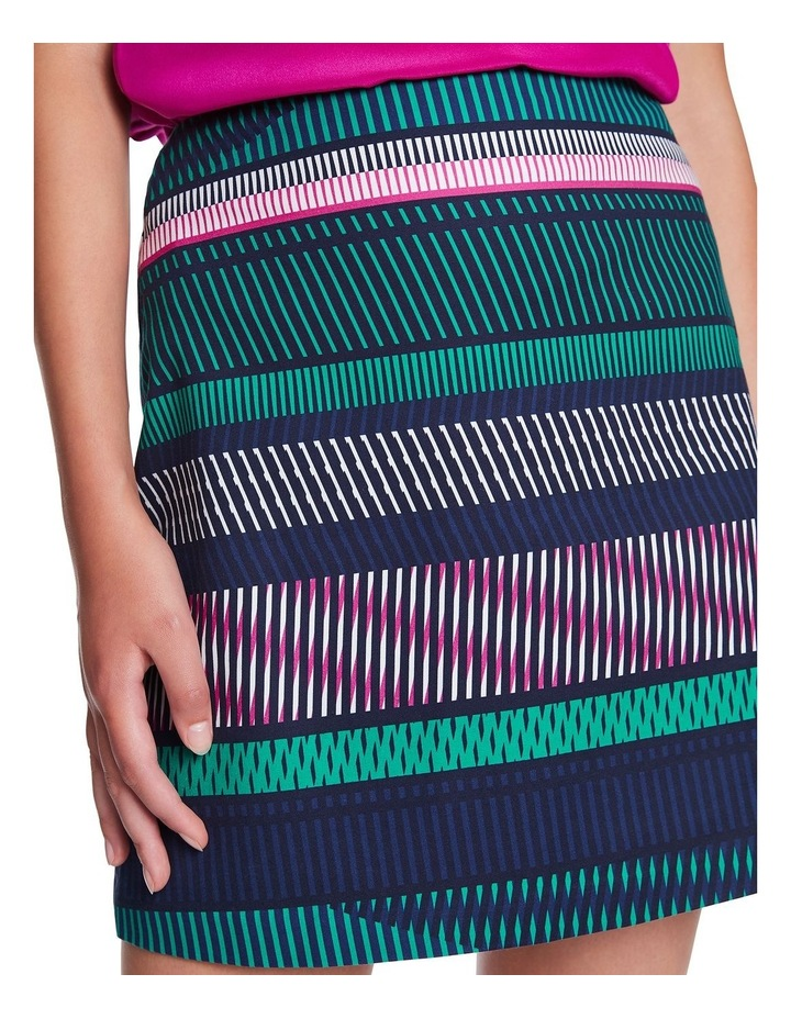 Staggered Stripe Skirt image 4