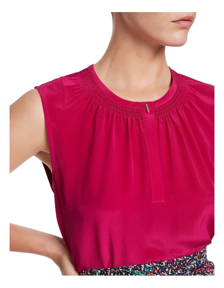 Sherry Silk Jersey Top image 4