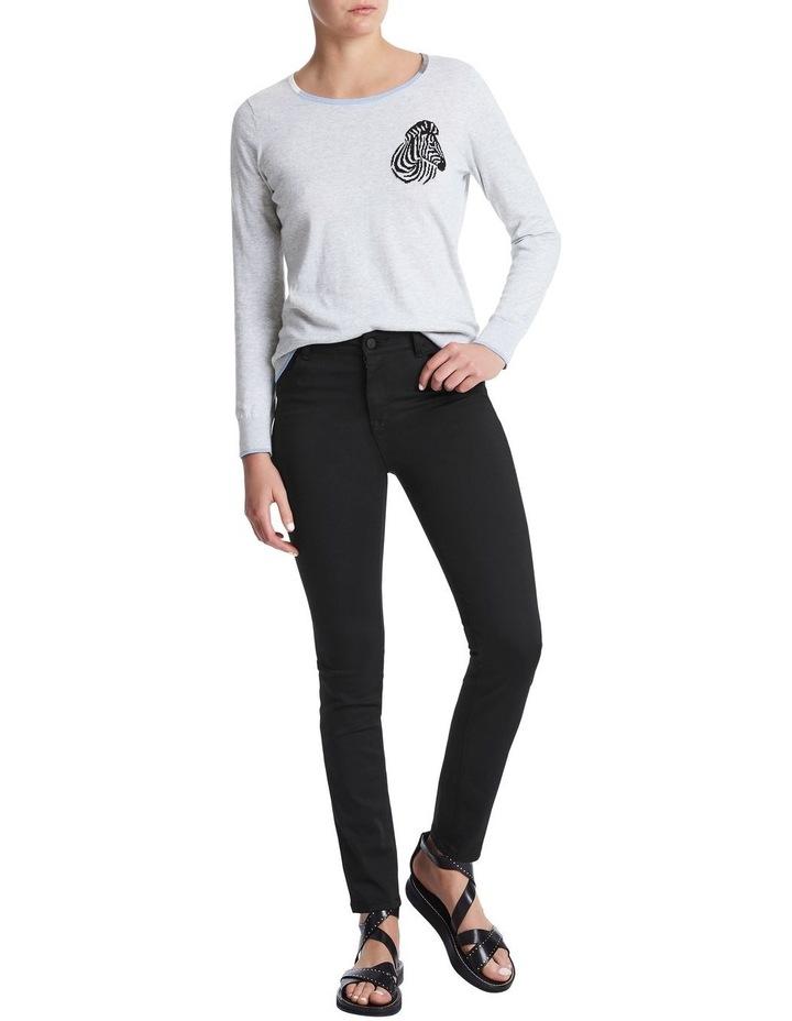 Darlo Black Skinny Jean image 2