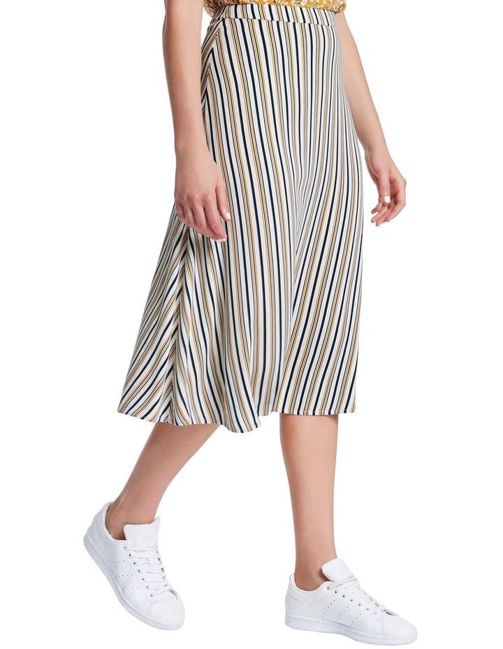 Mustard Stripe Skirt image 1