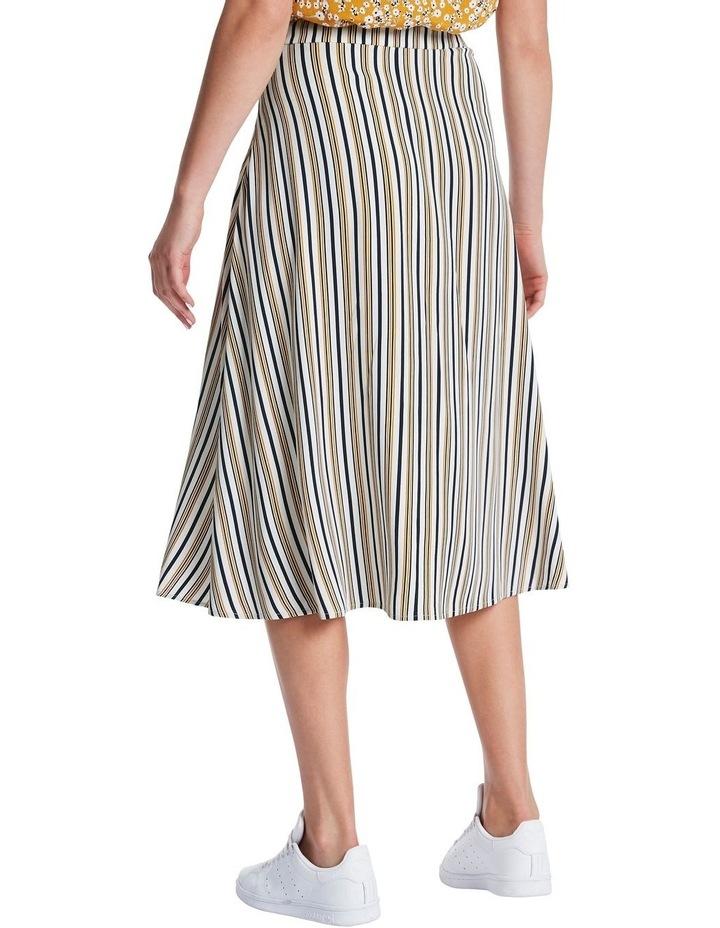 Mustard Stripe Skirt image 3