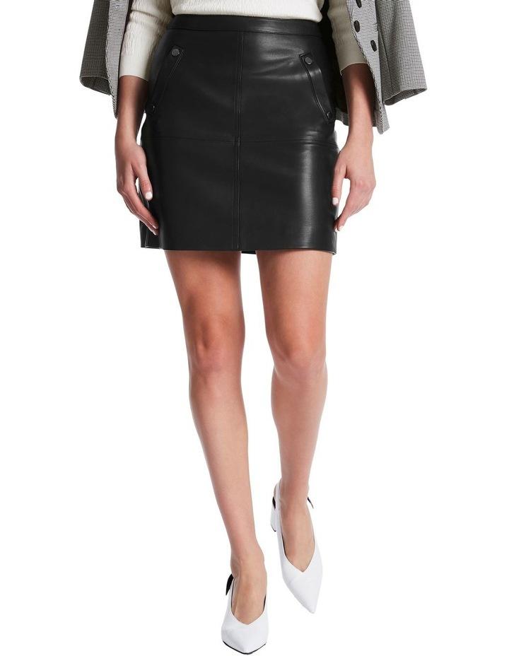 Chrissie Leather Skirt image 1