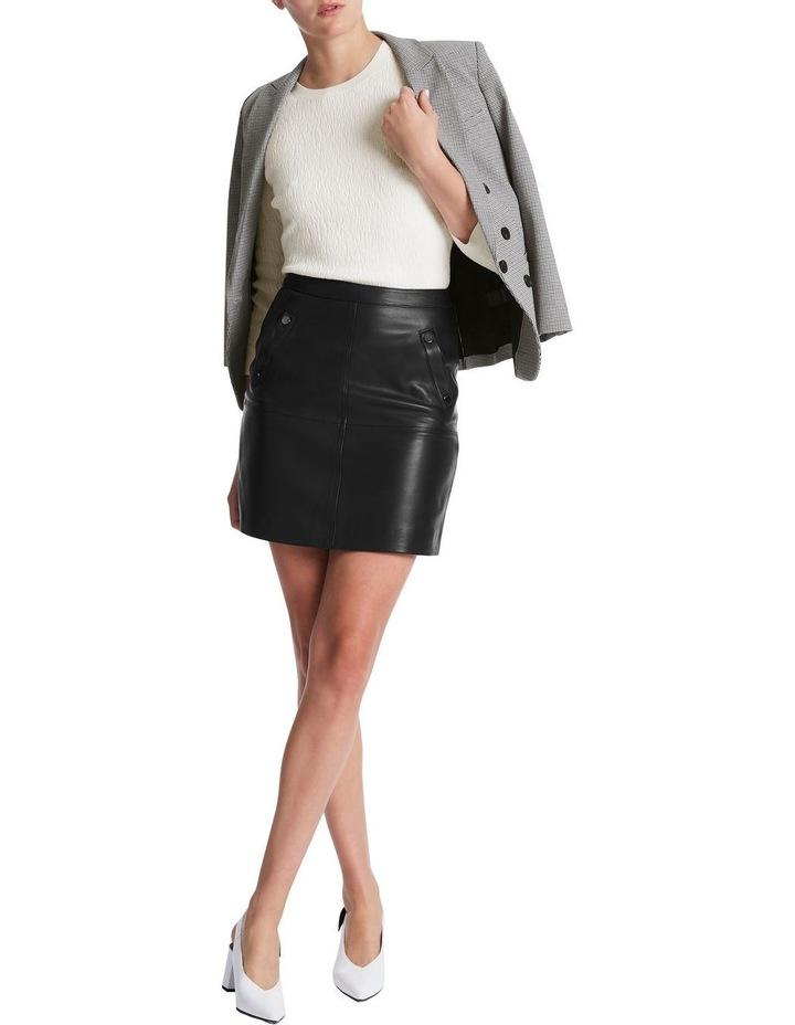 Chrissie Leather Skirt image 2