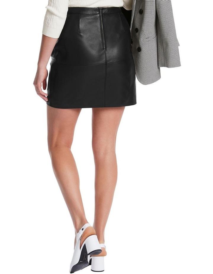 Chrissie Leather Skirt image 3