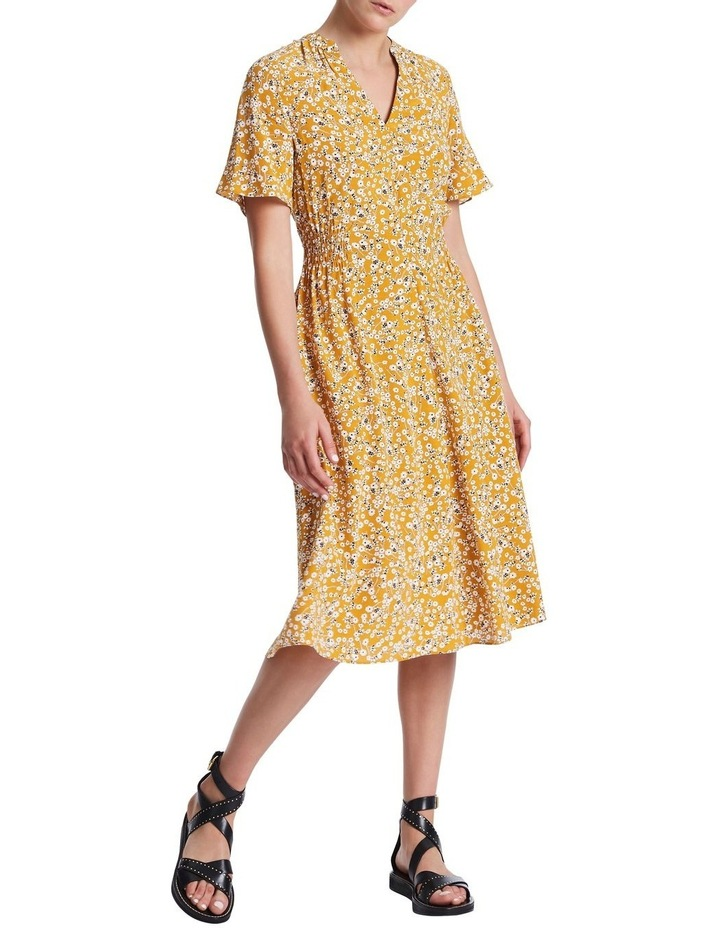 Mustard Flowers Dress image 1