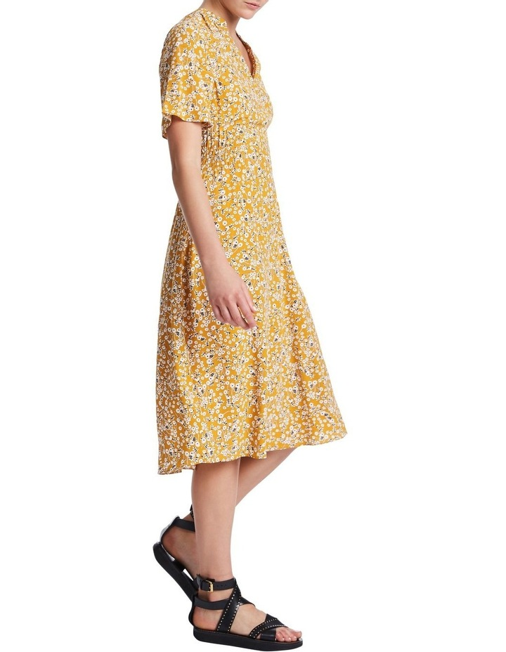 Mustard Flowers Dress image 2
