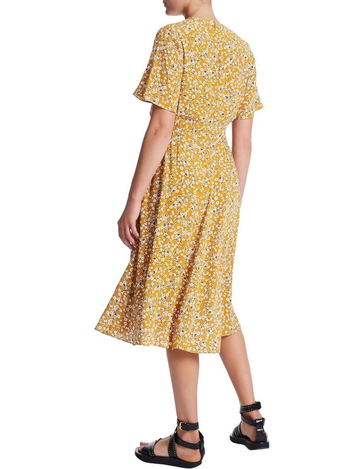 Mustard Flowers Dress image 3