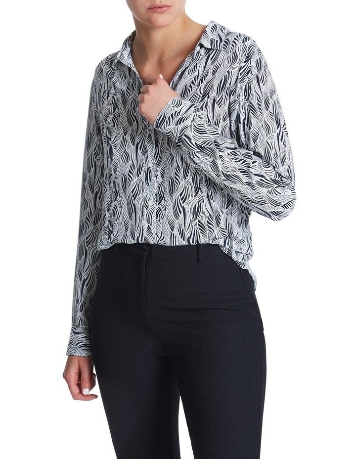 Sofia Silk Zebra Shirt image 1