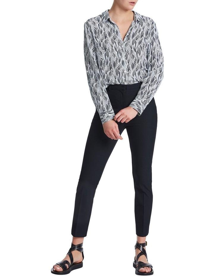 Sofia Silk Zebra Shirt image 2