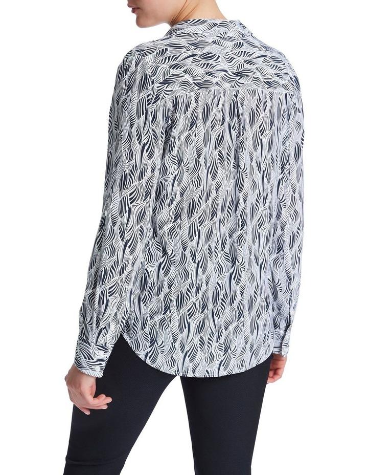 Sofia Silk Zebra Shirt image 3