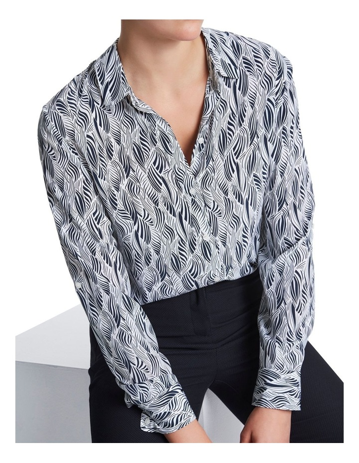 Sofia Silk Zebra Shirt image 4