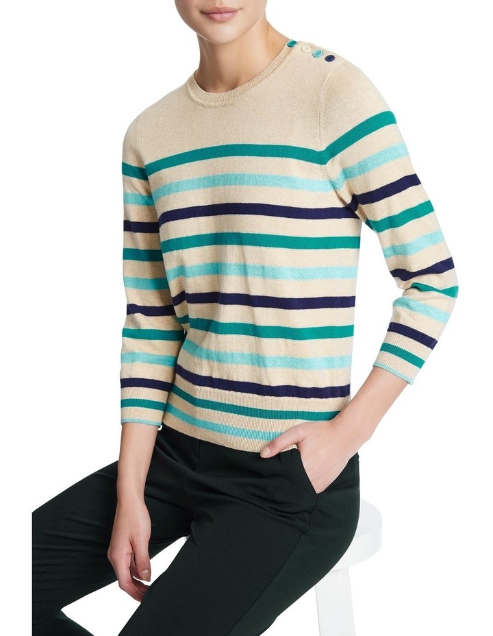 Teal With It Knit image 1