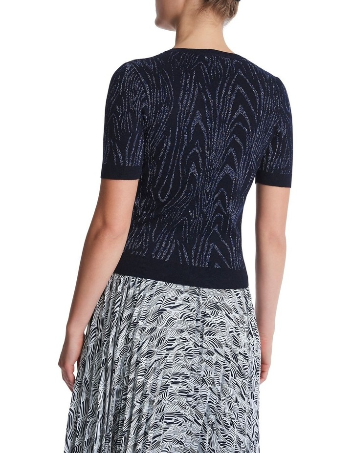 Zebra Metallic Knit image 3