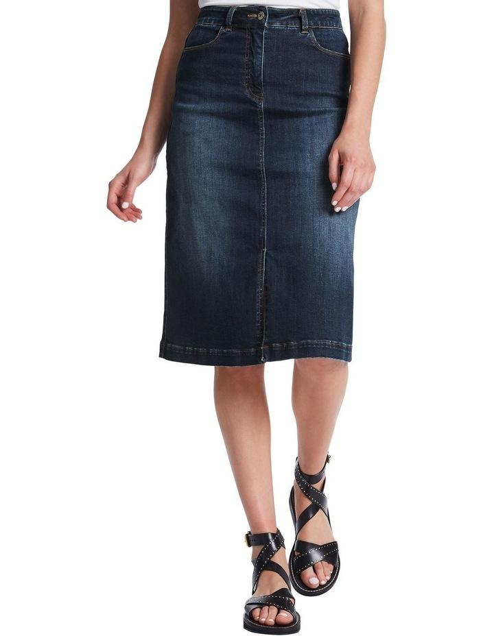 Rosebery Denim Midi Skirt image 1