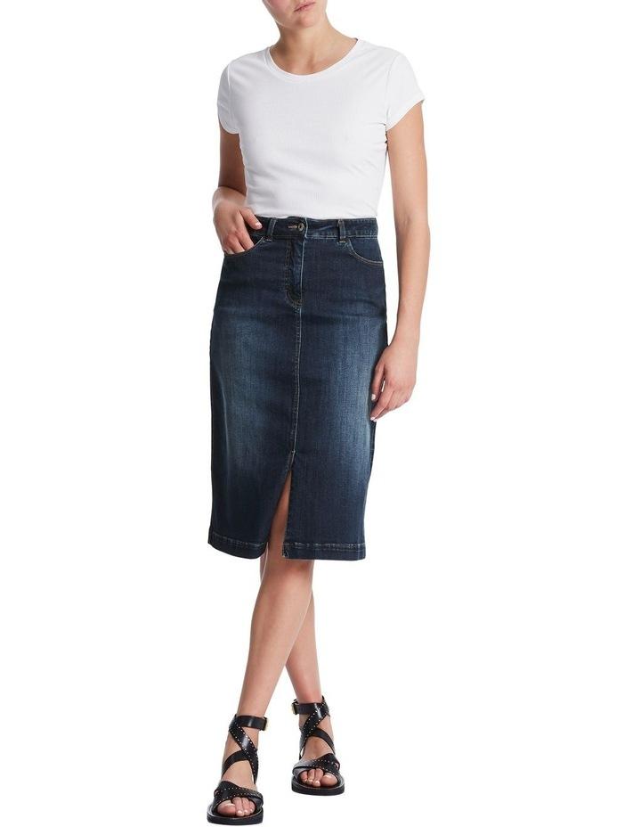 Rosebery Denim Midi Skirt image 2