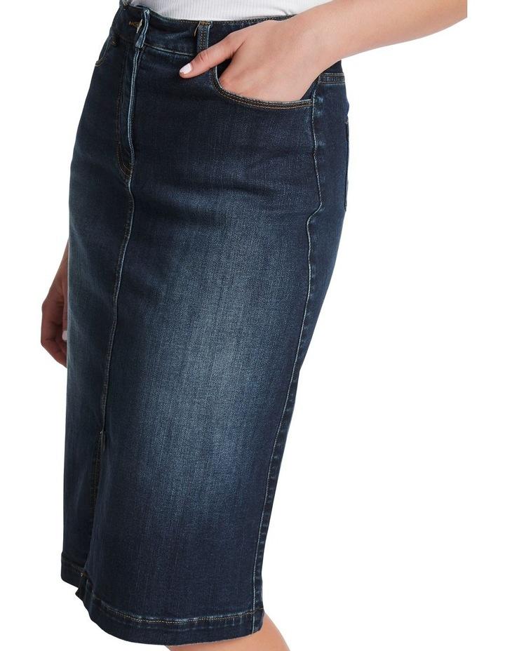 Rosebery Denim Midi Skirt image 4
