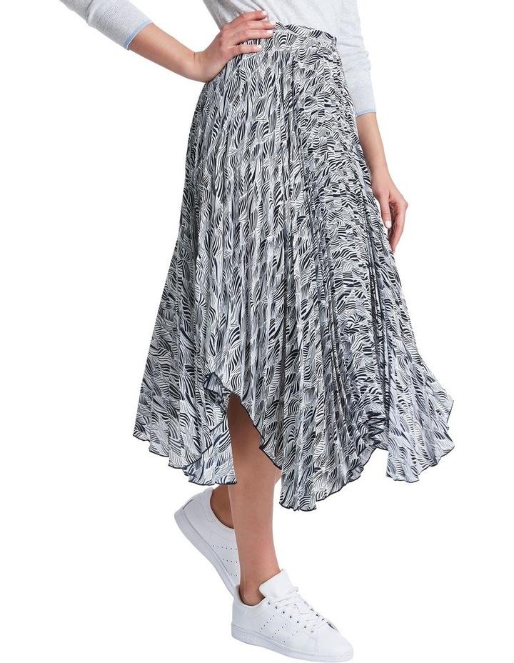 Zebra Pleat Skirt image 1