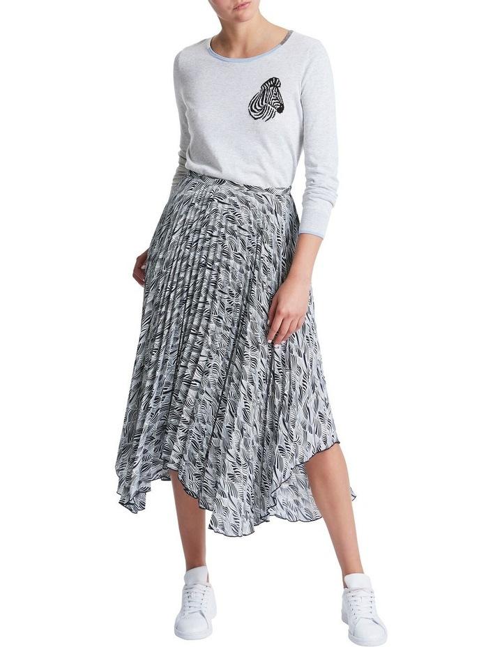 Zebra Pleat Skirt image 2