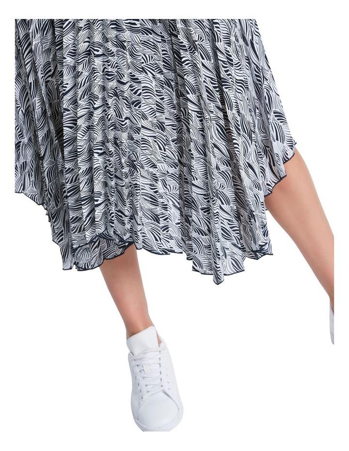 Zebra Pleat Skirt image 4