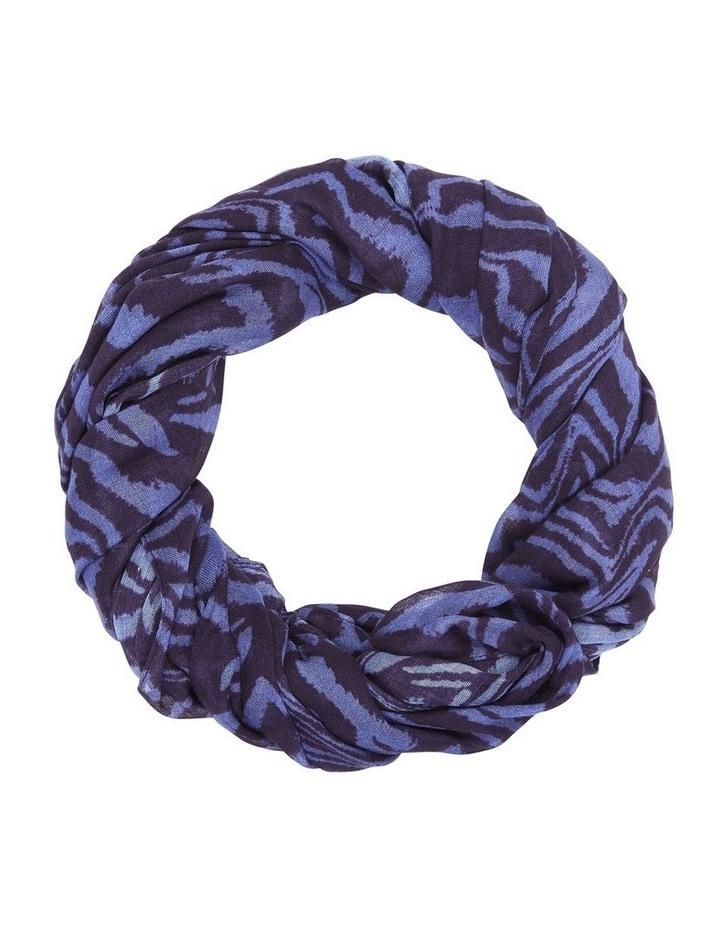 Blue Zebra Scarf image 1