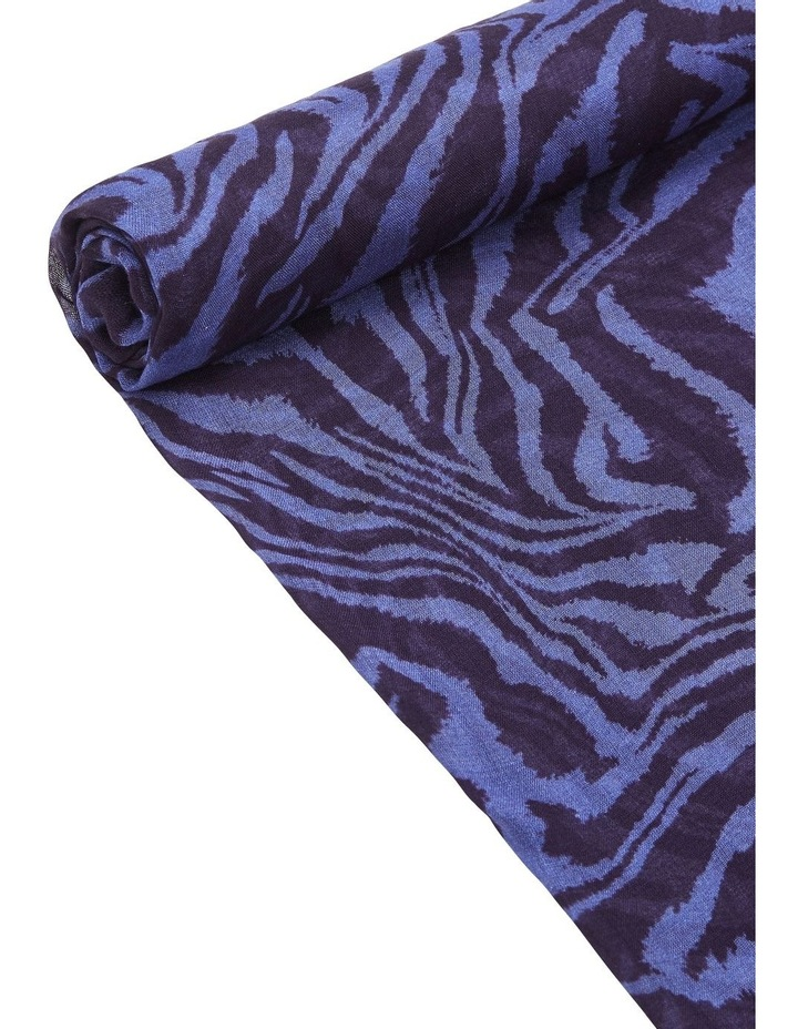 Blue Zebra Scarf image 2