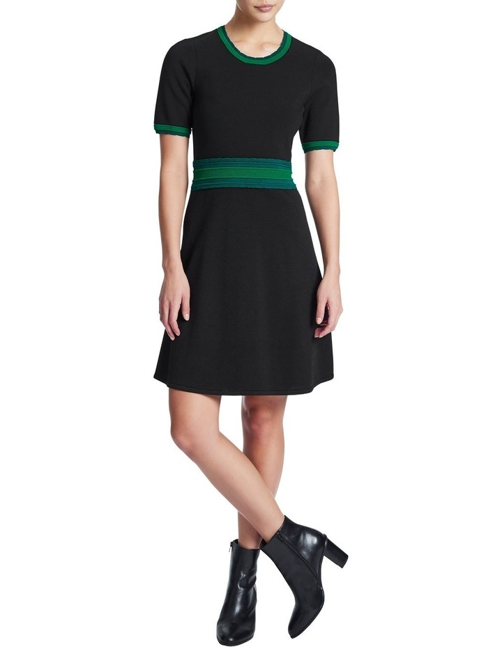 Scallop Trim Knit Dress image 2