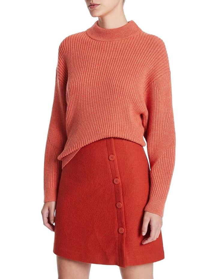 Peach & Spice Rib Knit image 1
