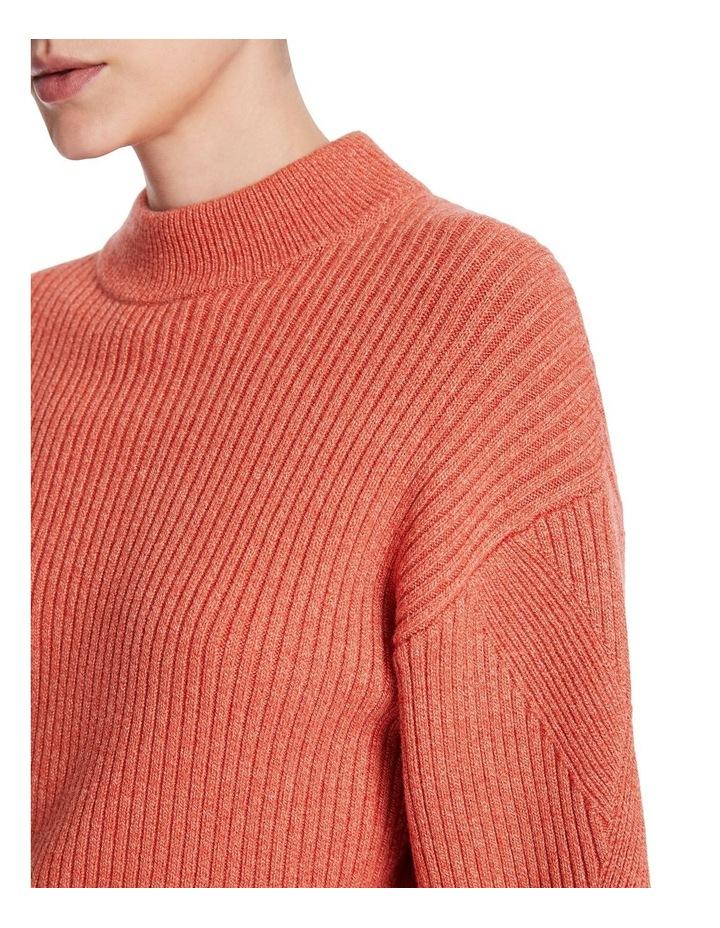 Peach & Spice Rib Knit image 4