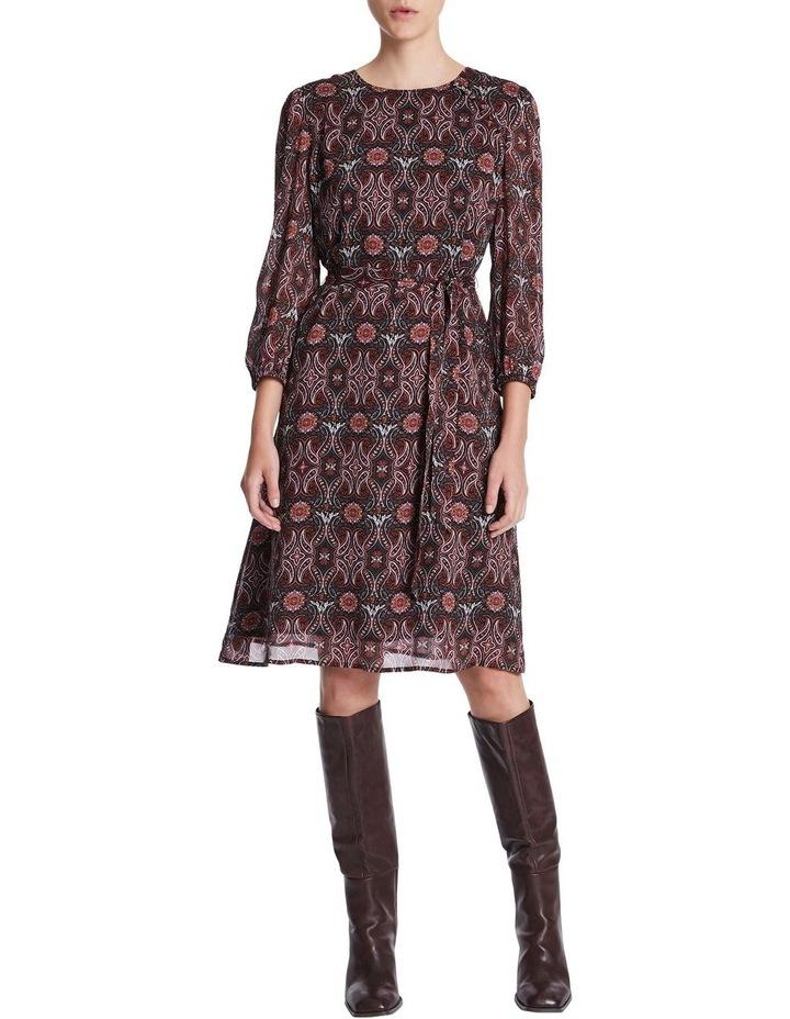 Mosaic Viscose Gorgette Dress image 1