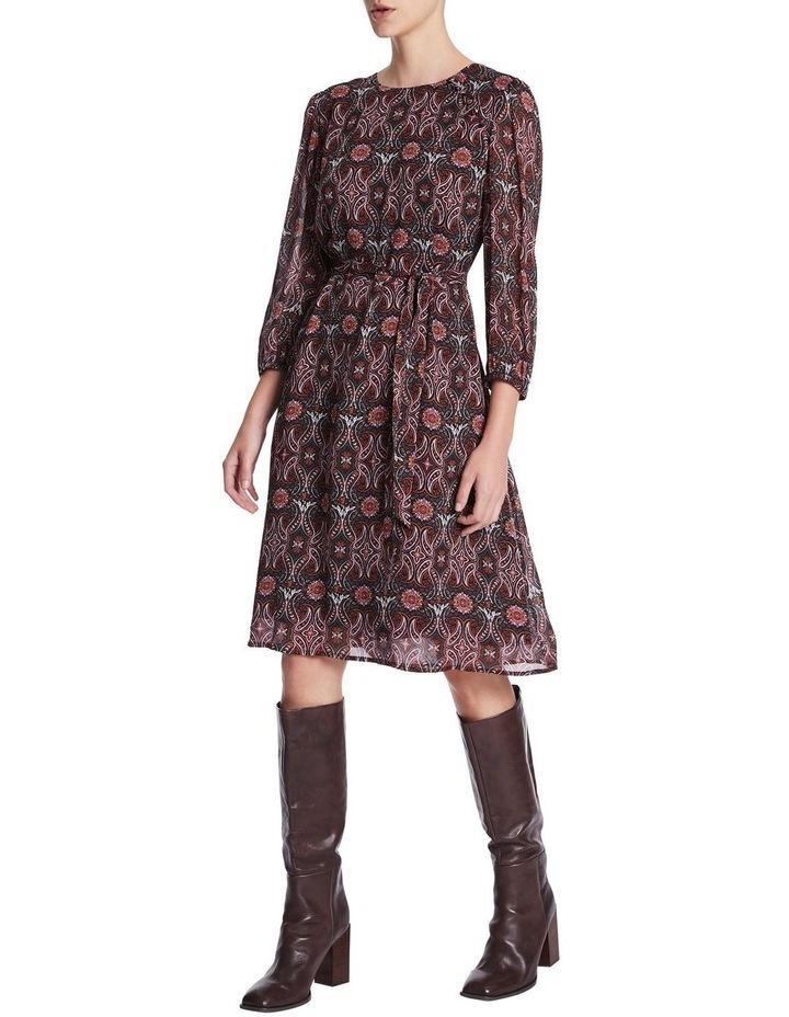 Mosaic Viscose Gorgette Dress image 2