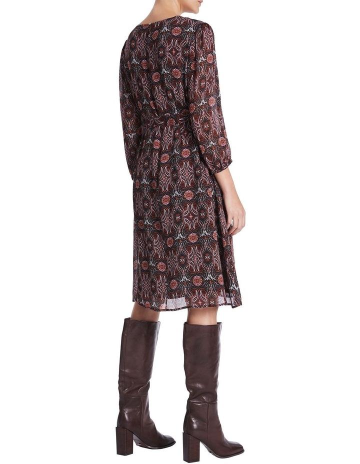 Mosaic Viscose Gorgette Dress image 3