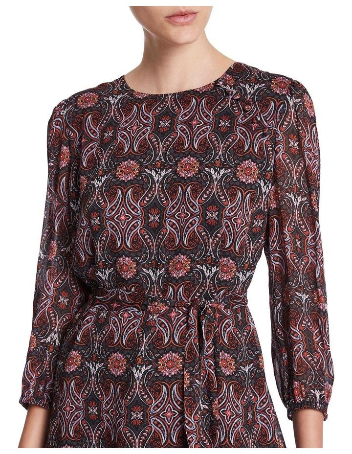 Mosaic Viscose Gorgette Dress image 4
