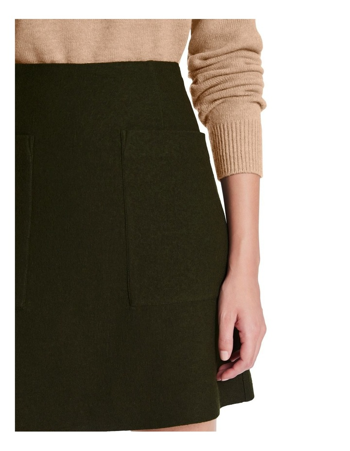 Felted Wool Patch Pocket Skirt image 4