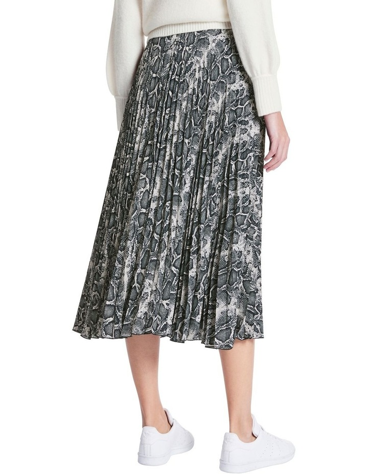 Python Pleat Skirt image 3