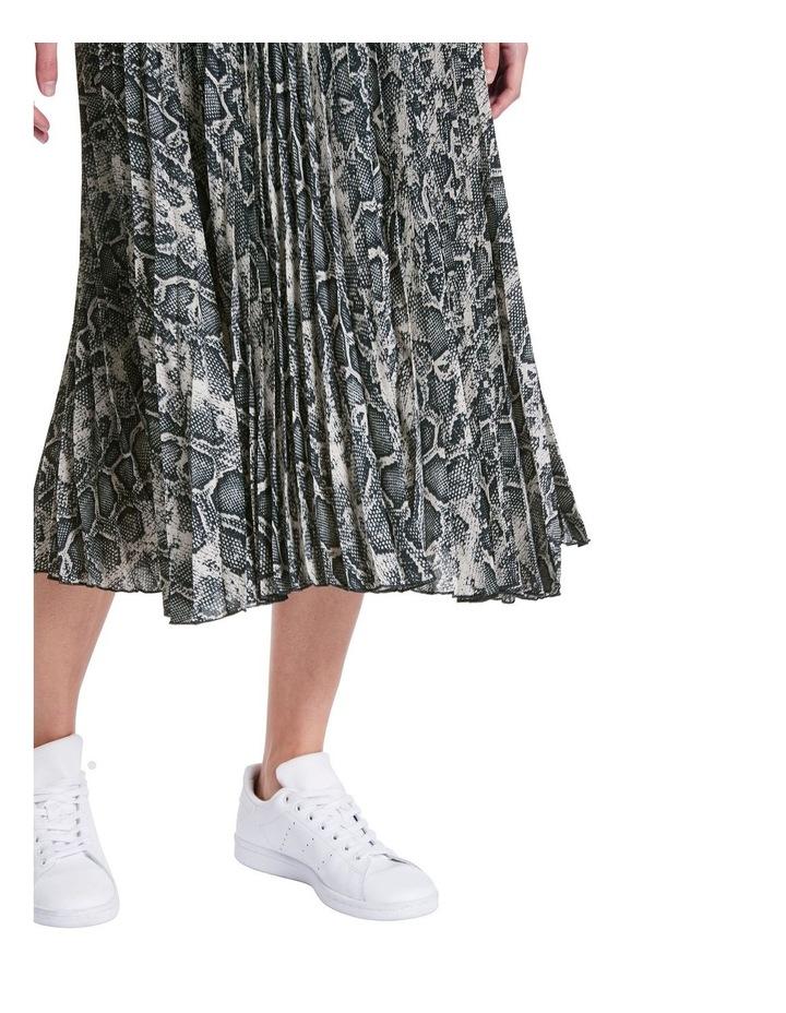 Python Pleat Skirt image 4