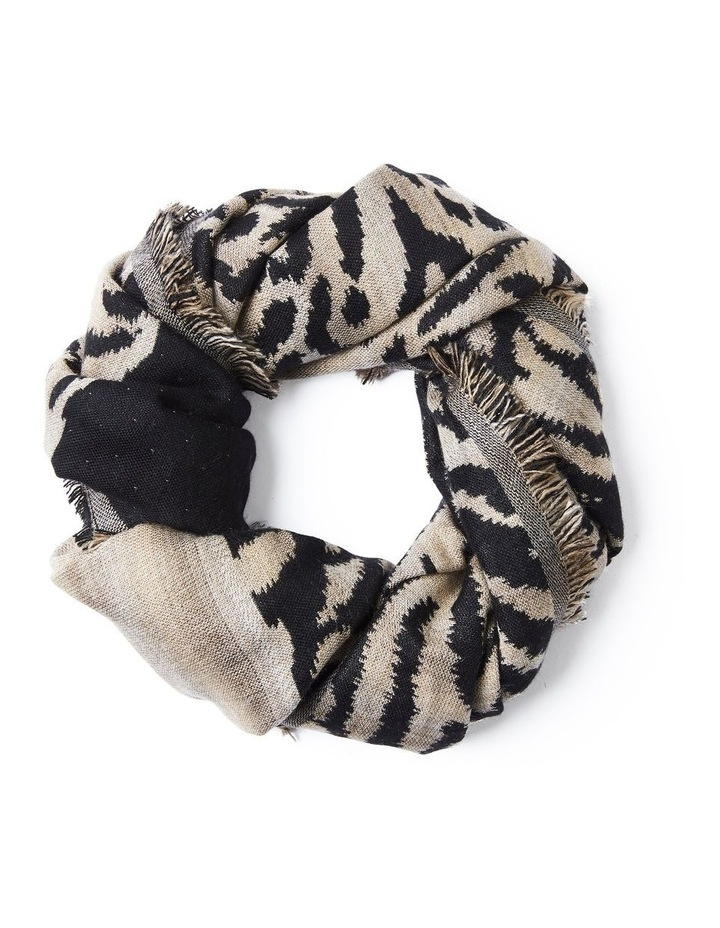 Animal Jaquard Scarf image 1