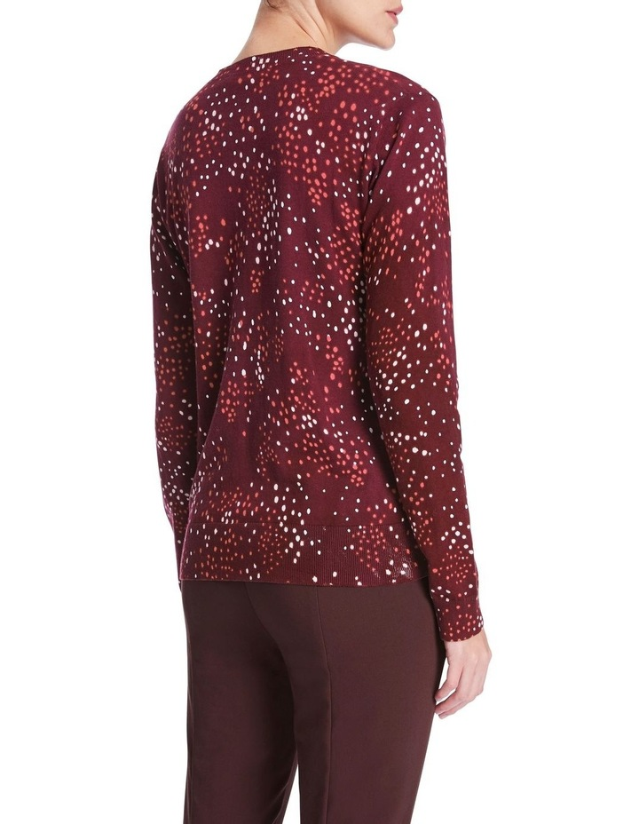 Scattering Dot Printed Knit image 3