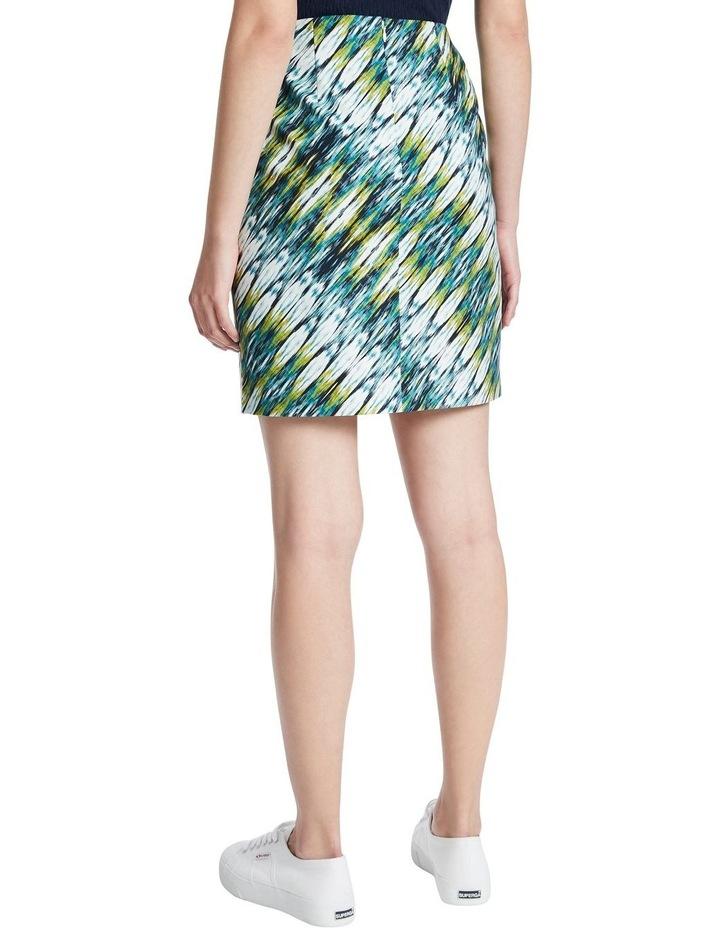 Ikat Print Skirt image 3