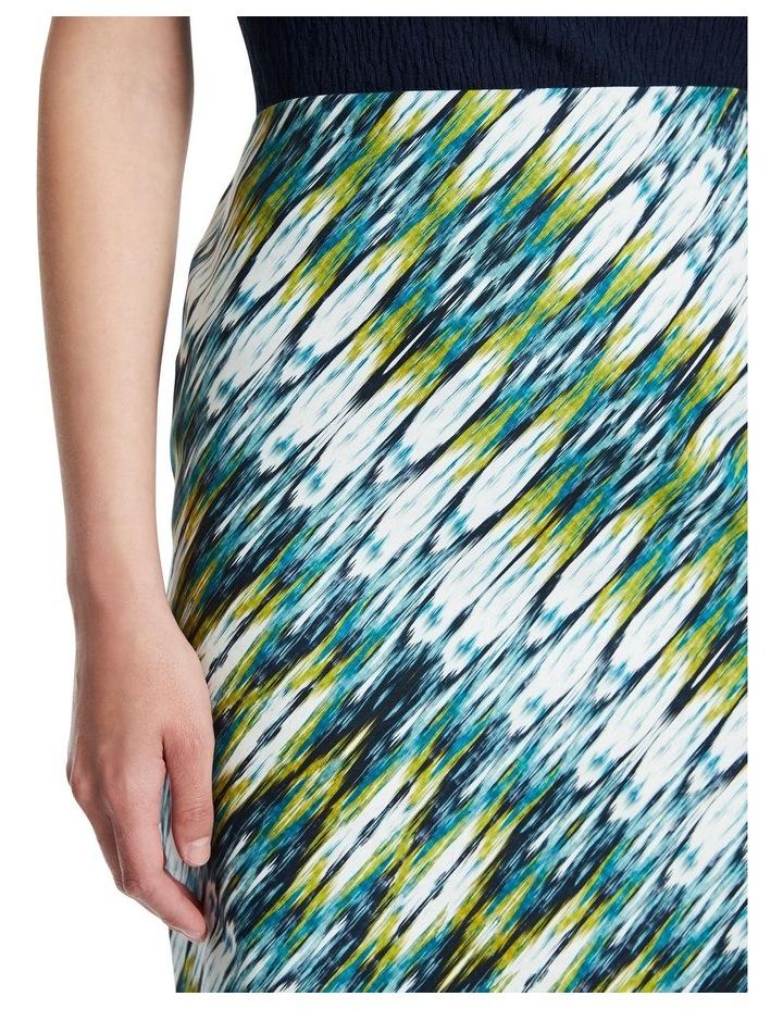 Ikat Print Skirt image 4