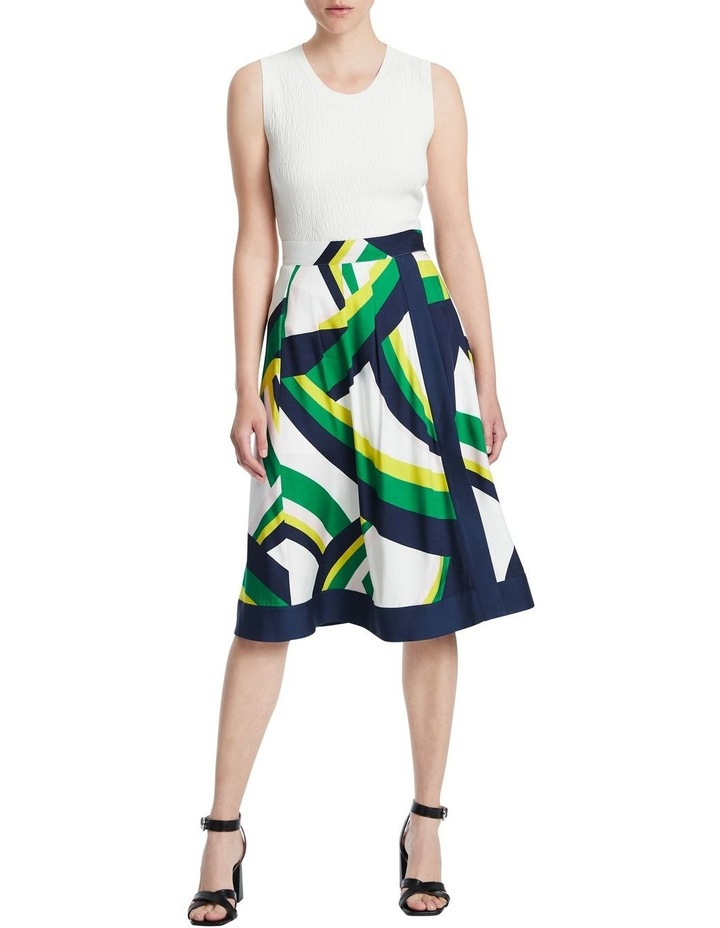 Crazy Stripe Viscose Skirt image 2