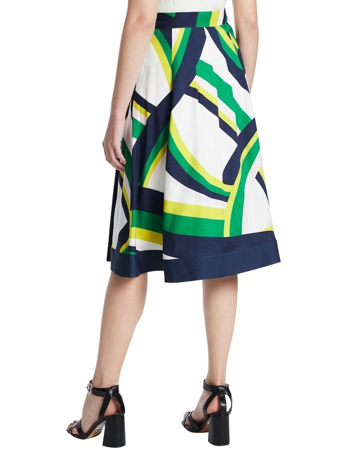 Crazy Stripe Viscose Skirt image 3
