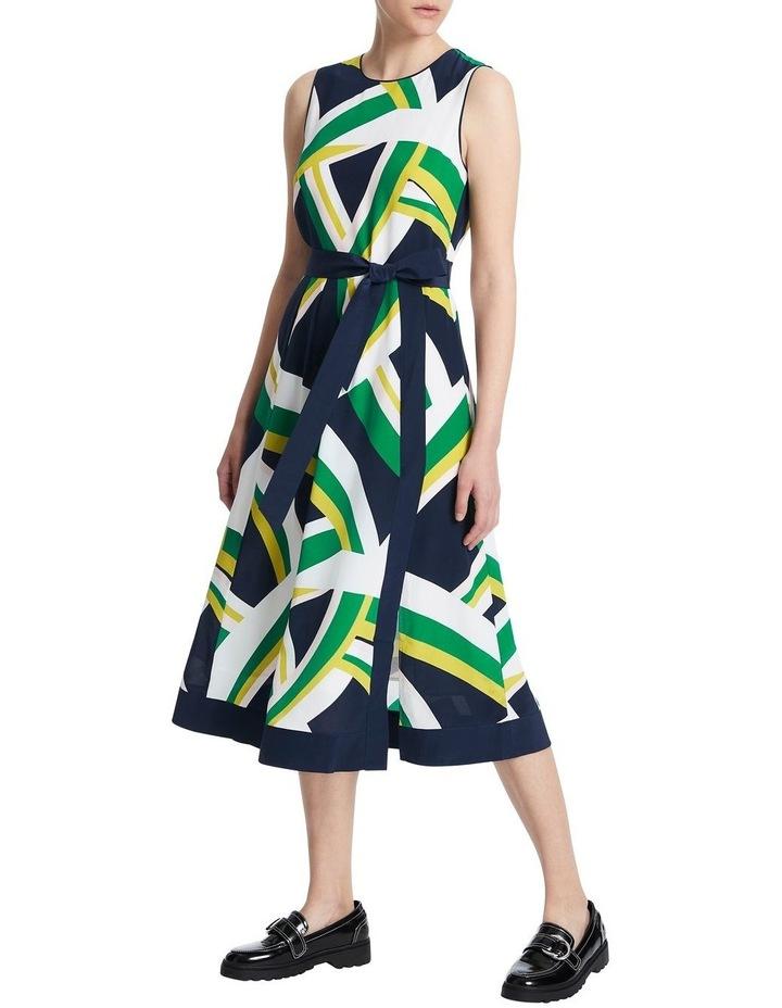 Crazy Stripe Silk Dress image 2