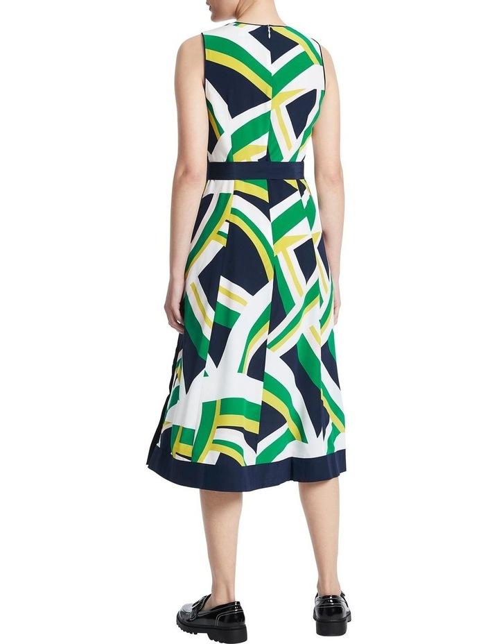 Crazy Stripe Silk Dress image 3