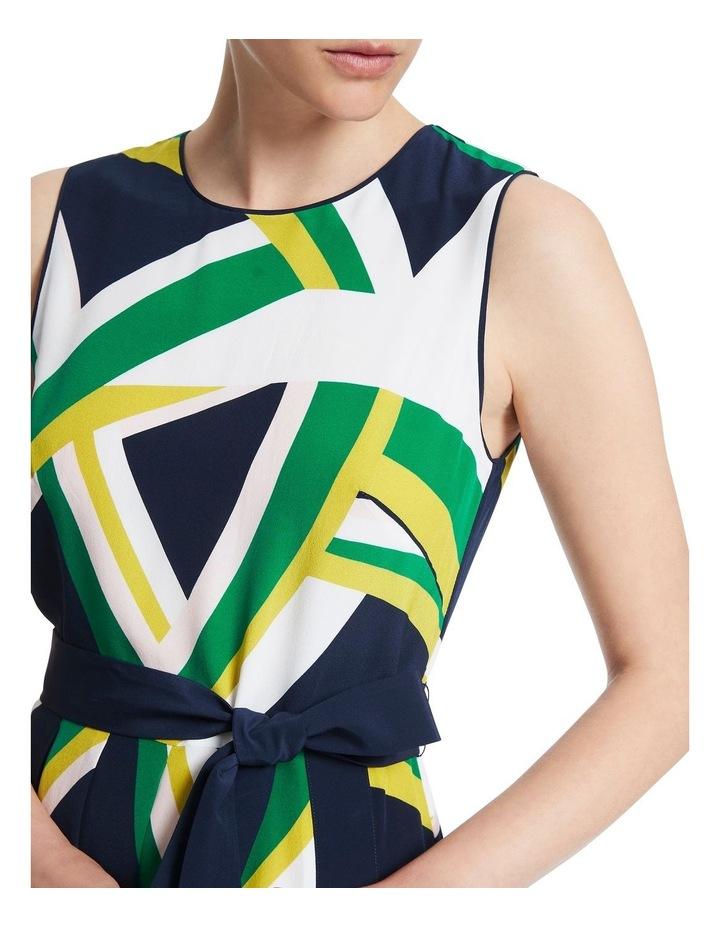 Crazy Stripe Silk Dress image 4