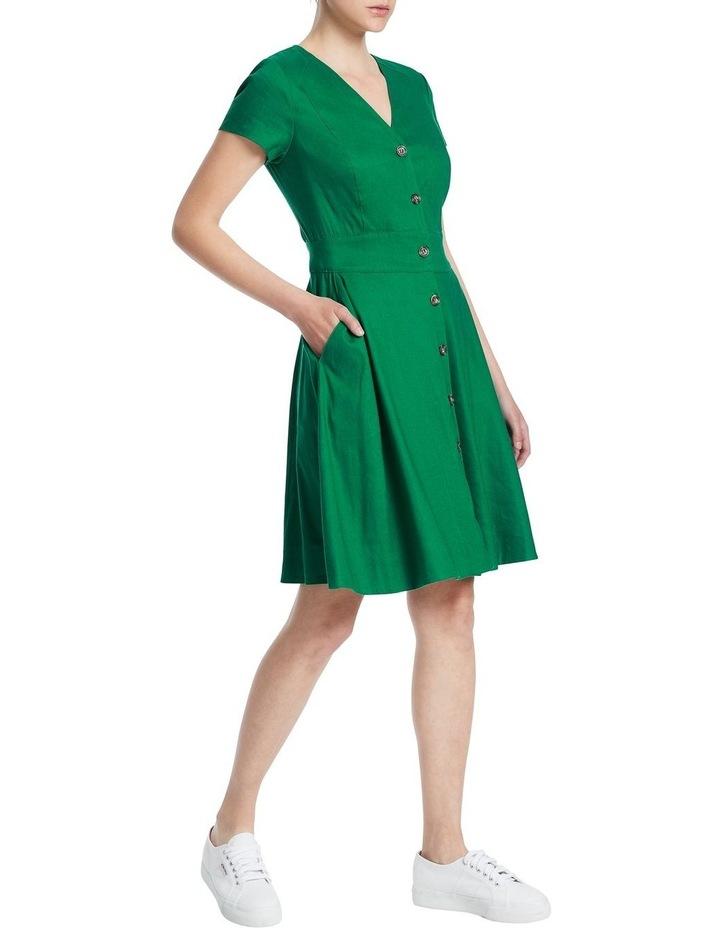 Eva Button Up Linen Dress image 2