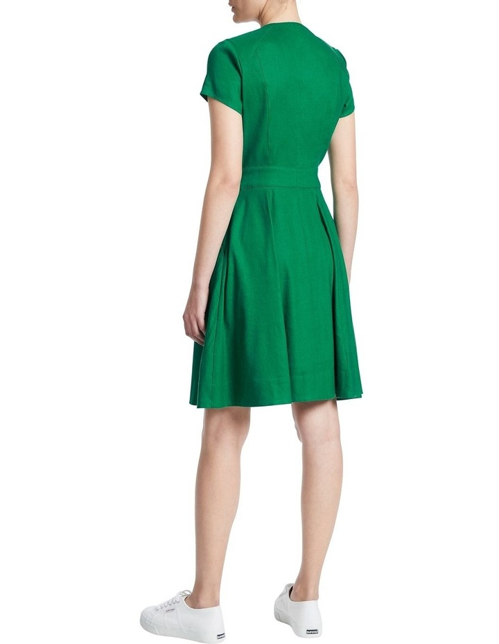Eva Button Up Linen Dress image 3