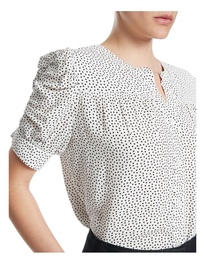 Falling For You Printed Blouse image 4
